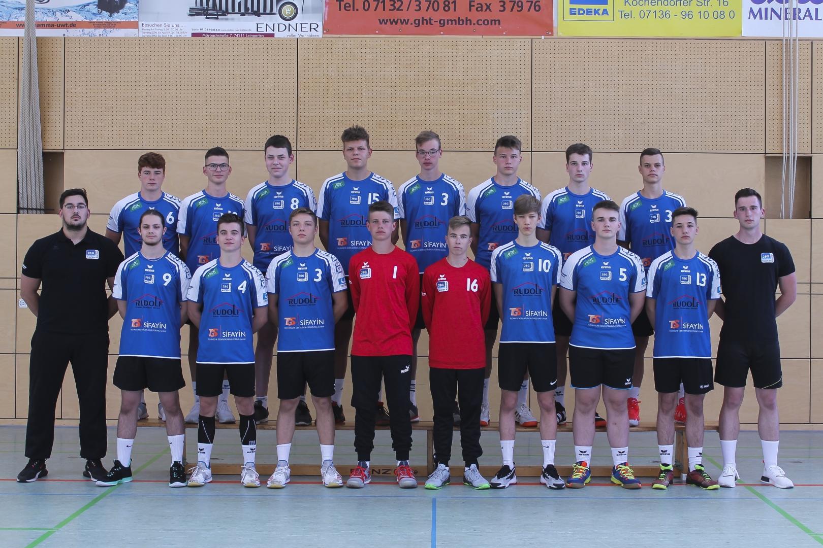 JSG Neckar Kocher männliche Jugend B